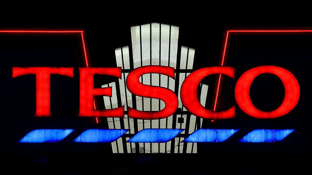 Tesco registra en el Reino Unido su primer aumento de ventas trimestrales en tres años