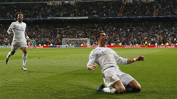 Ronaldo fills boots and dazes Wolfsburg while City rejoice as PSG weep