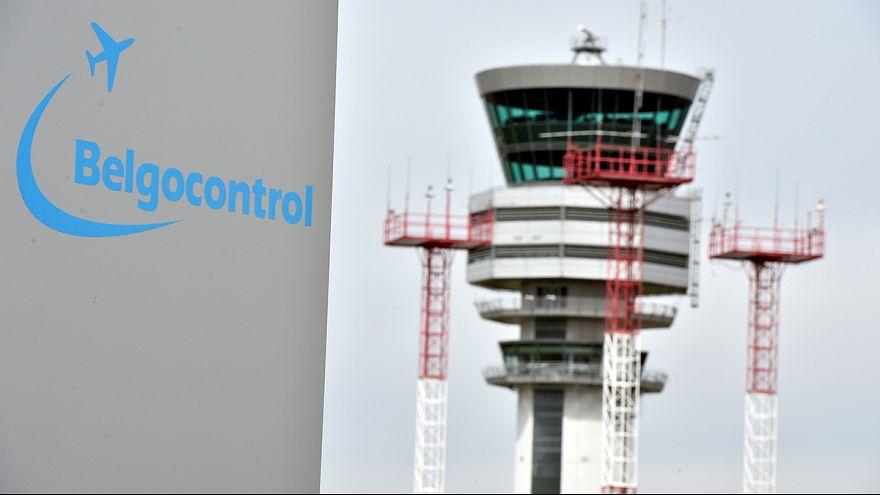 شلل في المطارات البلجيكية بسبب اضراب المراقبين الجويين