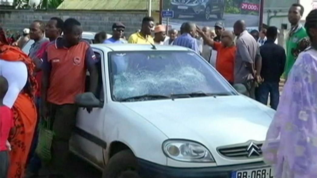 Manifestaciones en Mayotte terminan en una ola de violencia
