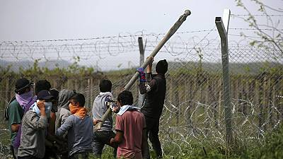 Crise des migrants : nouveaux heurts à Idomeni