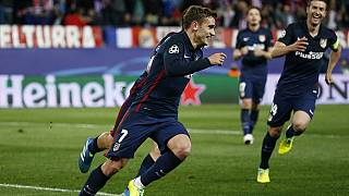 Griezmann double dumps Barcelona out of Champions League
