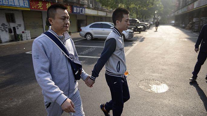 Çinli eşçinsel çifte mahkemeden red