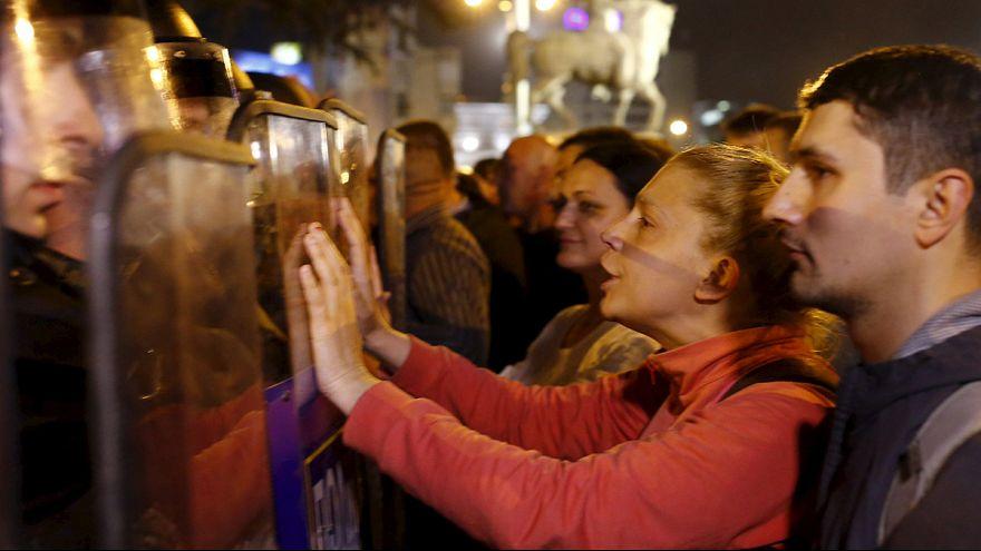 Macédoine : émeute contre l'amnistie de responsables politiques