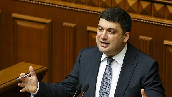 فولوديمير غرويسمان رئيسا للوزراء في أوكرانيا