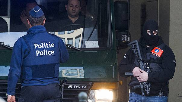 Terror suspects in court in Brussels amid Abdeslam nuclear claims