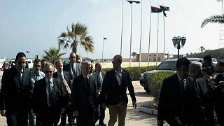 UK, French and Spanish ambassadors arrive in Libya