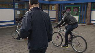 Refugiados en Europa: la bicicleta como método de integración