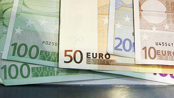 Inflação para a zona euro revista em alta