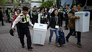 South Korea ruling party defeated in parliament