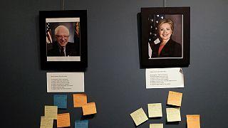 """EUA: Clinton e Sanders preparam-se para morder a """"grande maçã"""""""