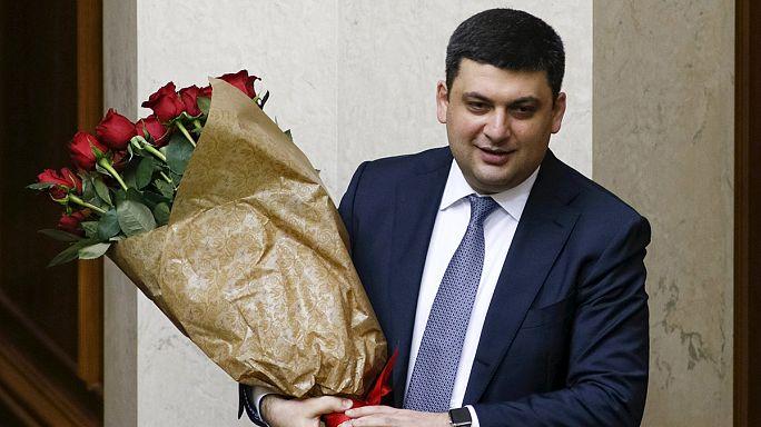 المصادقة على تعيين فولوديمير غرويسمان رئيسا للوزراء في أوكرانيا