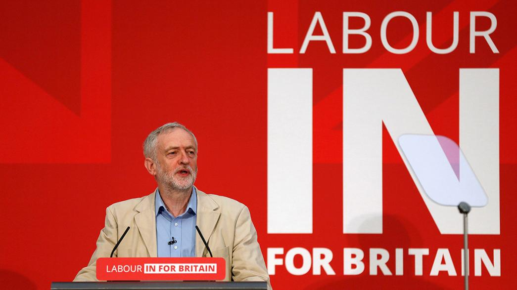 "Jeremy Corbyn: ""No alla Brexit"""