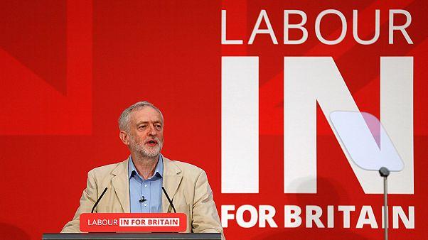 Grande-Bretagne : Jeremy Corbyn se prononce contre le Brexit