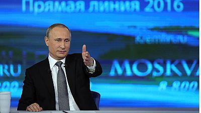 """Putin se dice """"optimista"""" por la situación económica en Rusia, pese a mantenerse la recesión"""