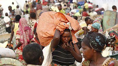 RDC: des réfugiés vident les camps