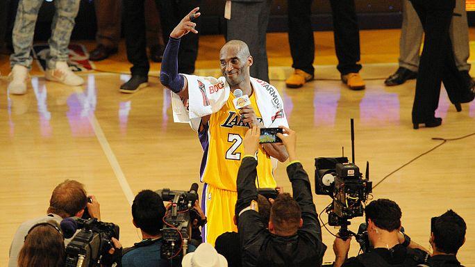 Kobe 60 sayıyla veda etti