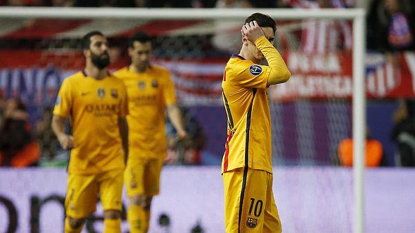 Ligue des champions : l'Atlético sort le Barça, le Bayern passe