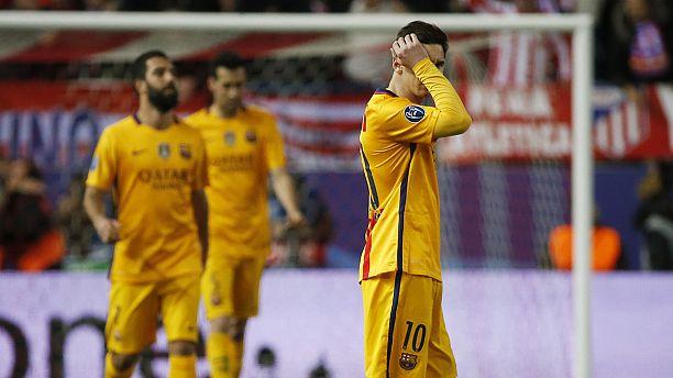 Barcelona suffer Wednesday night nervous breakdown