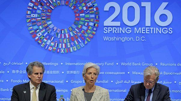 Lagarde pide al Reino Unido y la UE que sigan dialogando para evitar un 'Brexit'