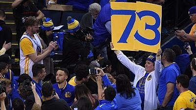 Warriors break Chicago Bulls NBA regular wins record