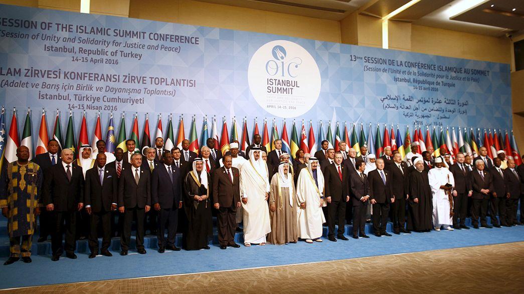 Cumhurbaşkanı Erdoğan'da İslam dünyasına 'ortak strateji' çağrısı