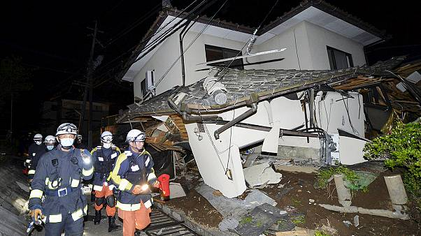 Deadly earthquake hits Japan