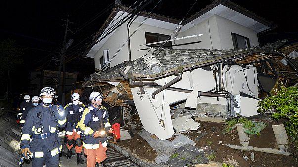 Japonya sarsıldı: Deprem can aldı