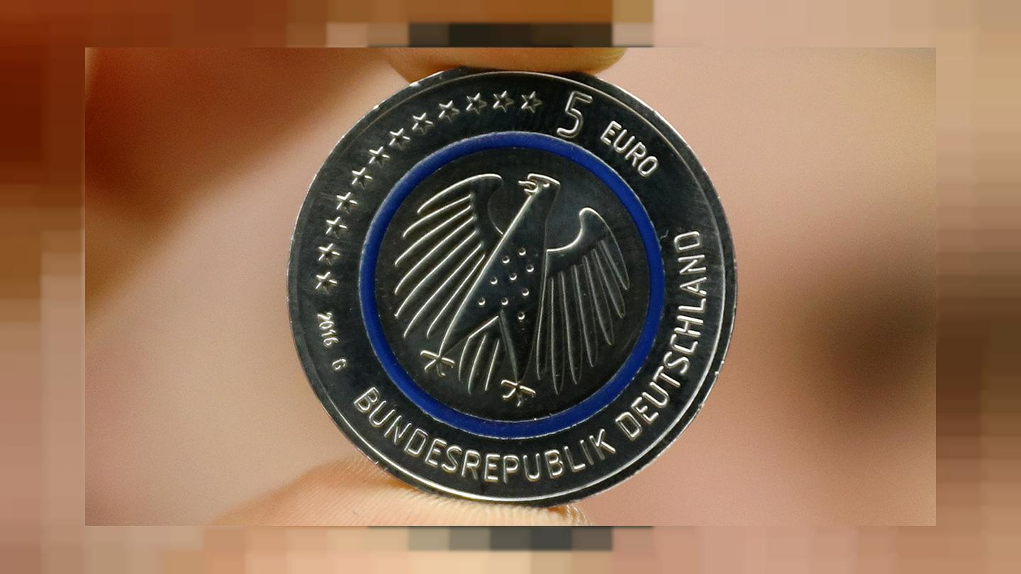 New Five Euro Coin Released In Germany