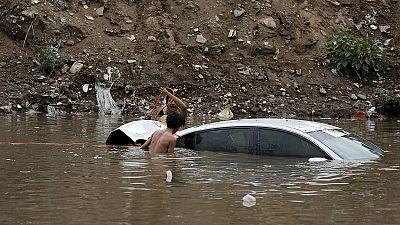Colapso de barragem no Iémen