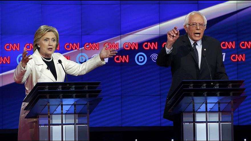 Értékítéletet kért számon egymáson Clinton és Sanders