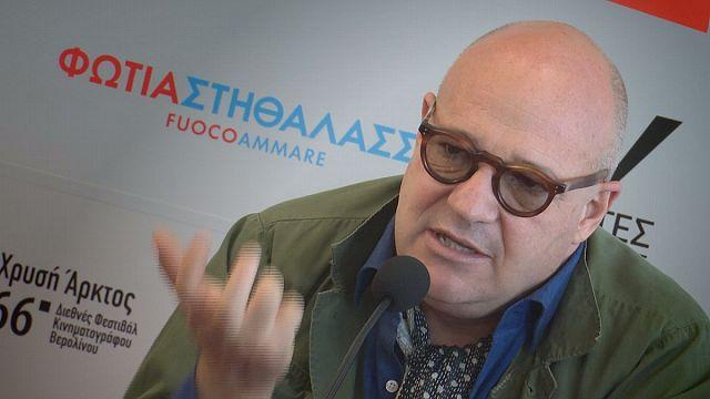"""Gianfranco Rosi präsentiert Flüchtlingsdrama """"Fuocoammare"""" in Athen"""