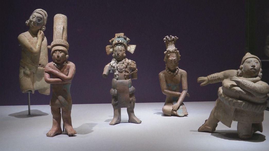 Berlín acoge una exposición única dedicada al arte maya