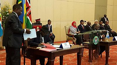 South Sudan officially joins East African Community