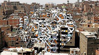 Égypte : des graffitis pour changer l'image d'un quartier