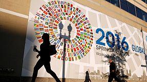 World Bank, IMF say growth lower and warn of new Greek crash