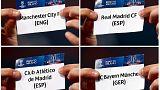 Жеребьевка полуфиналов Лиги чемпионов и Лиги Европы