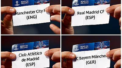 Man City draw Real Madrid in Champions League semis