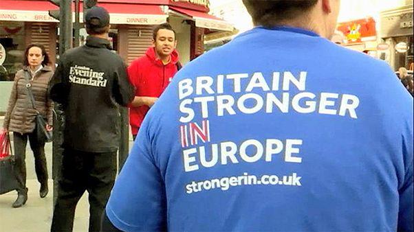 Referendum UK-UE, al via le campagne dei due schieramenti