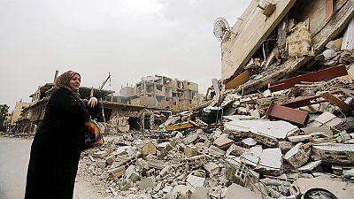 Retour à Palmyre