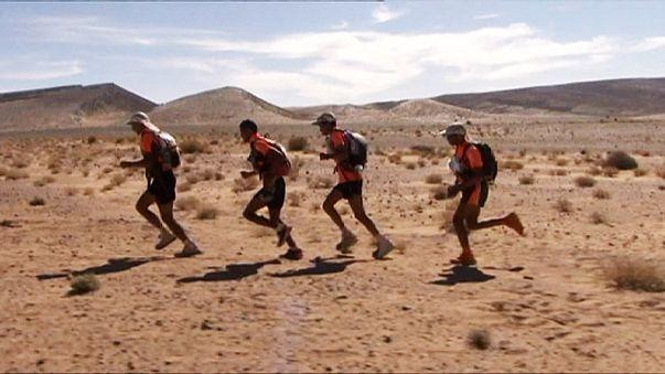 Maratona das Areias: Rachid El Morabity, vencedor, Carlos Sá, no oitavo lugar