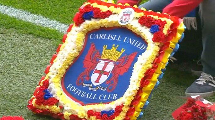 Hillsborough faciası kurbanları Anfield Stadyumu'nda anıldı