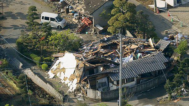 Újabb földrengés volt Japánban