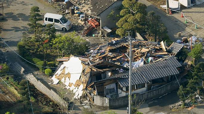 New deaths reported as Japan is hit by second powerful quake in less than 24 hours