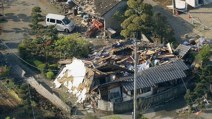 اليابان: سلسلة زلازل قوية تضرب المناطق الجنوبية