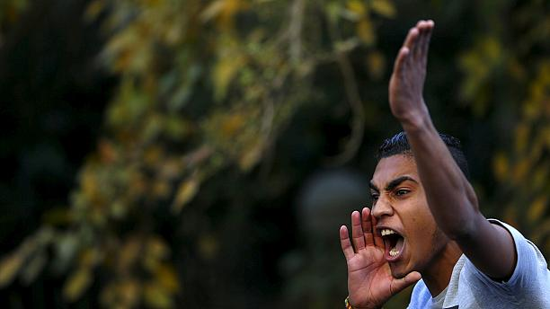 Protests in Cairo over Egypt-Saudi Tiran and Sanafir island deal