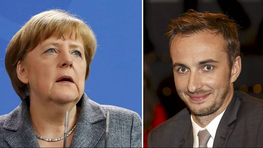 Division within Germany's ruling coalition over Merkel's decision to allow prosecution of comic