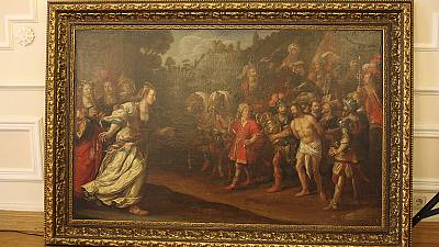 Four Dutch masterpieces stolen from museum show up in Ukraine