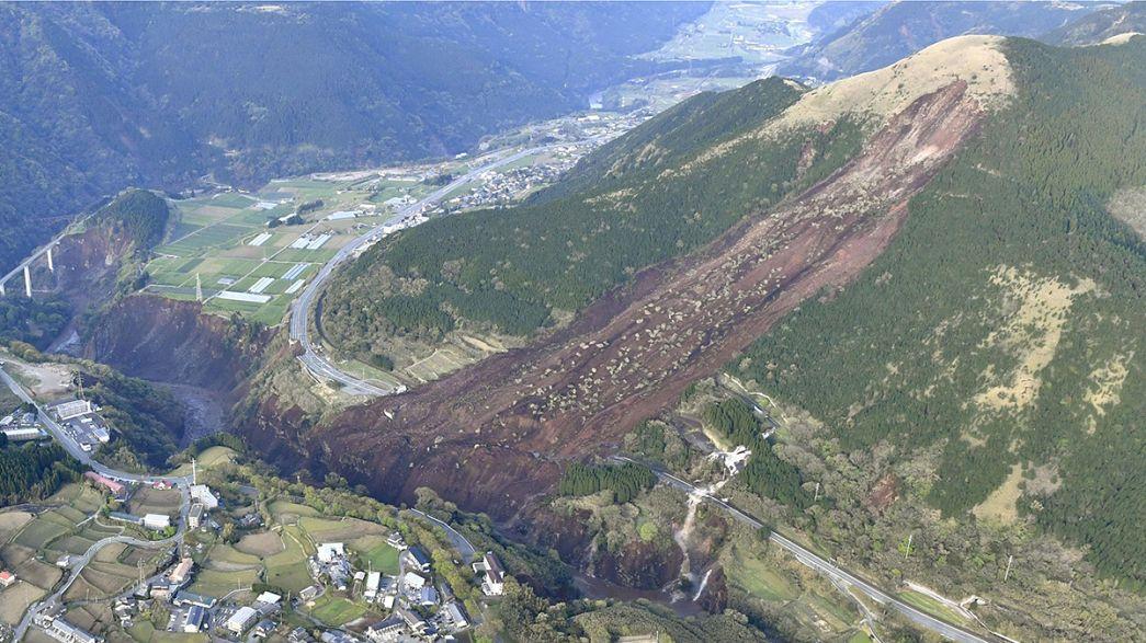 Un nuevo terremoto de mayor intensidad vuelve a sacudir el sur de Japón