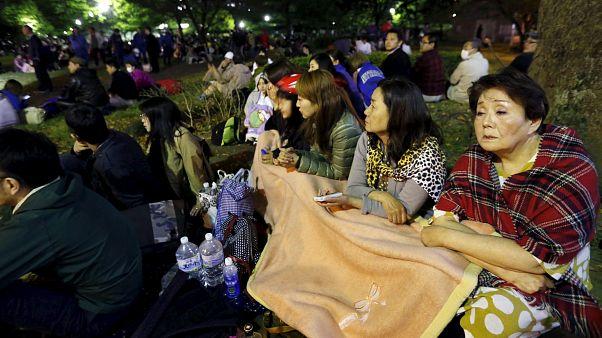 Japan: Überwachungskameras zeichnen Erdbeben auf